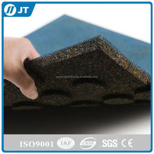 ISO9001 EPDM rubber granules crumbs for sport flooring