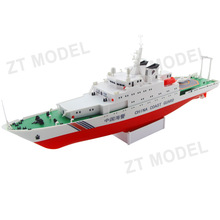 China Coast Guard Electric Powered Ship Plastic Model Kit