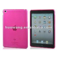 TPU back cover for ipad mini soft designed case for ipad mini