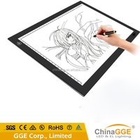 LED Tracing Light Table Drawing A4 Sketch GGE Tattoo LED Light A3 Huion Tracing Pad Drafting Table Writing Box