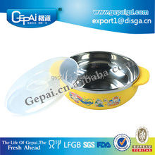 color stainless steel kid bowl/stainless steel small bowl/stainless steel thermal serving bowl
