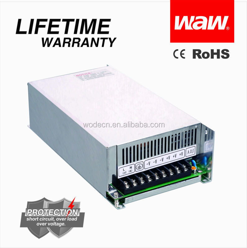 high quality SMPS 10.5a 48v 500w S-500 switching power supply