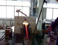 50KG Gold silver Induction melting furnace, induction smelter - 45KW