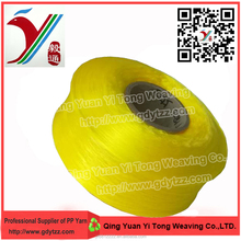100% virgin dyed pp yarn polypropylene fdy fiber yarn pp thread for pp webbing