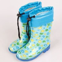 2016 New Design Children Cute Rain Boots