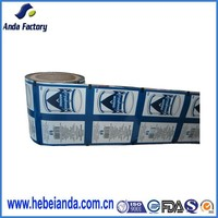 alibaba gold supplier supply laminated material waterproof shampoo packaging plastic roll film