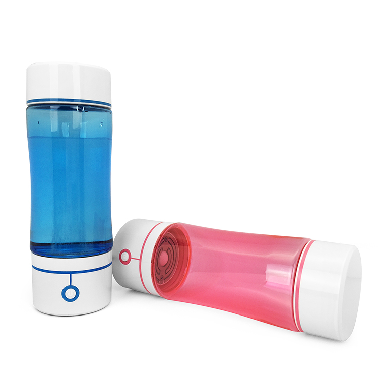 PC plastic water bottle joyshakers generator electrolysis water to hydrogen water