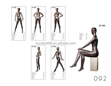 Hot sale new model sitting female mannequin