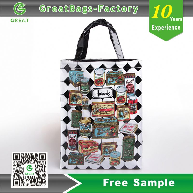 china pvc tote shopping bag wholesale cheap