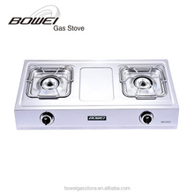 Double burner induction cooker with gas stove BW-2033