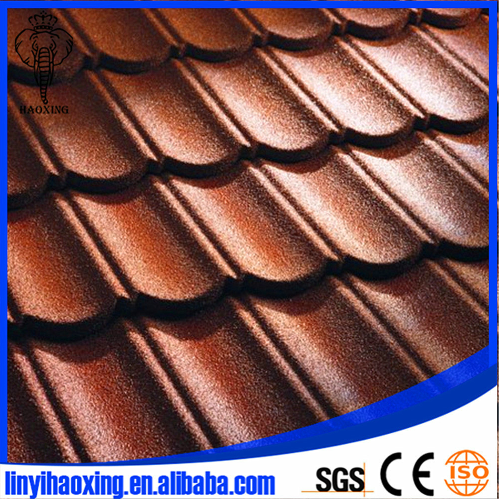 High level quality color stone tile roof stone tiles roof tile factory Manufacture