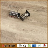 PVC flooring interlocking wood effect plastic flooring