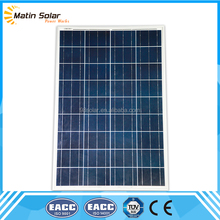 Made in china 100 watt cheap poly solar panel for india at low price market