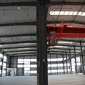 Peb Prefabricated Wide Span Metal Construction Fast Assembling Steel Frame Structure