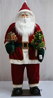 XM-A6072 60 inch lighted giant inflatable western christmas decorations santa