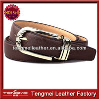 Hot sale 2014 leather man belt the Korean style fashion and easy match belt for man