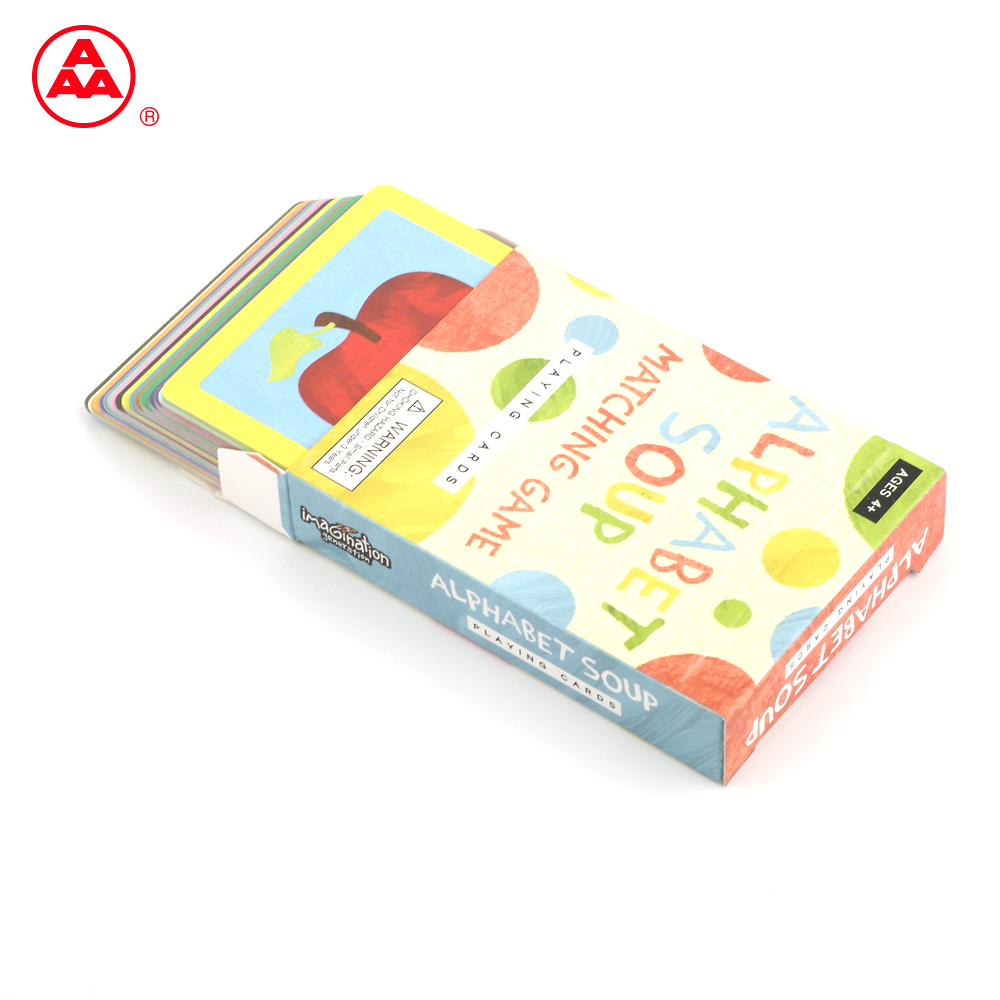 High Quality Popular New Style,standard alphabet printing services of flash card