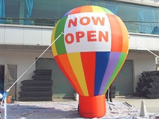 floating advertising inflatable ground balloon rainbow balloon,pvc air balloon