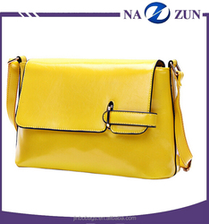 The newest Design Alibaba PU Leather Pure Color Motorcycle Lady Girl Cross Body Bag