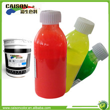fluorescent pigment latex for coloring