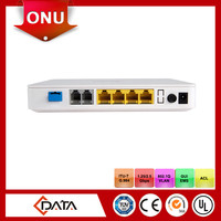 Telecom equipment 2POTS+4FE VoIP GPON ONT Compatible with Huawei, ZTE, Fiberhome olt