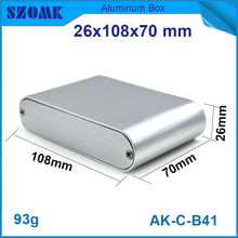 High quality junction box stainless steel aluminum enclosure electrical boxes 26 (h) ) x108 ( W ) x70 (l) mm