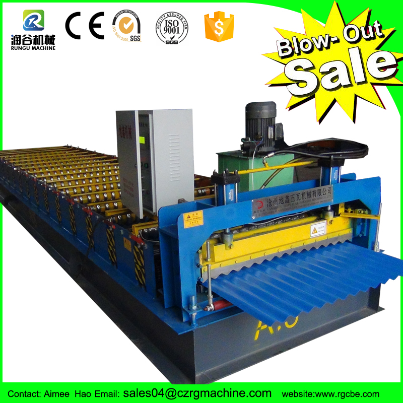 Complete line Roof Building Material industrial machines tile press roof tile machine with ISO certification