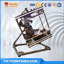 Funny Action Ride Flight VR simulator fly simulator flight simulator for sale
