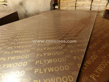 Film faced plywood/shuttering plywood factory from Linyi city/CONSMOS brand film faced plywood