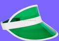Factory wholesell plastic pvc sun visor With Free Random Sample
