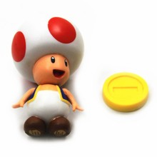 2018 small plastic toy figures Super Mario Bros cartoon model Toy Action Figure