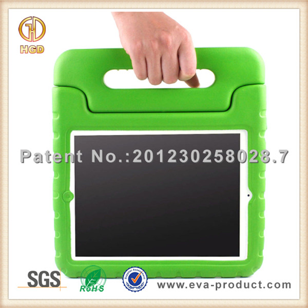 Kids friendly EVA waterproof shockproof case for ipad 3 stand case