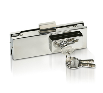 Stainless steel factory glass door security door lock