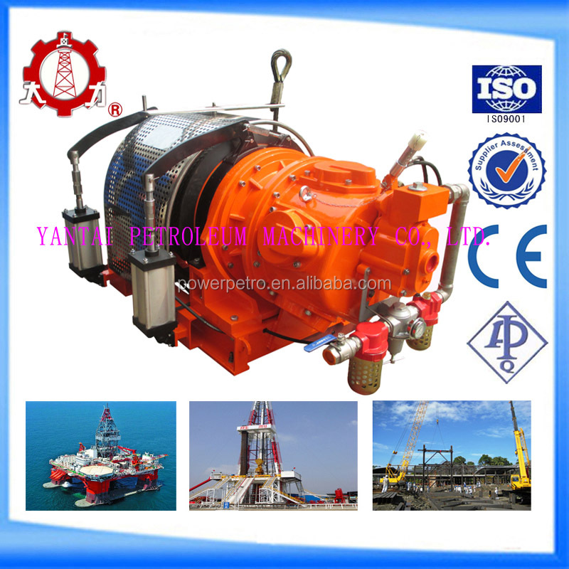 Single Drum Air Winch with double cylinder
