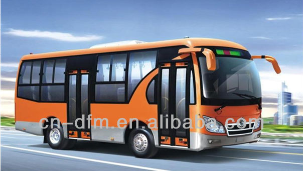 2013 Most Popular LHD/RHD Double Door Buses--Dongfeng City Bus EQ6730P3G1