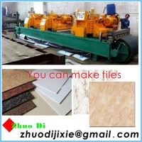 polish production line-polish stone coated steel roofing tile