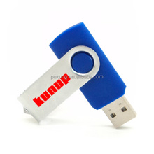 Custom logo 8GB swivel usb flash drives 2.0 memory stick for gift wholesale