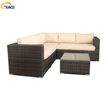 New fashion modern rattan outdoor sofa sets hot sale outdoor sofa furniture