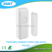 Wireless surface mount magnetic contact door alarm contact 433 mhz, CE RoHS