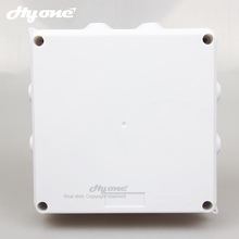 High performance ABS material 150X150X70 waterproof junction box plastic wiring connection enclosure