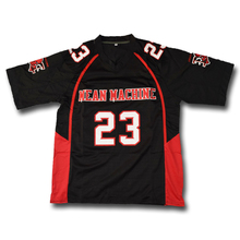 Megget #23 Mean Machine Black Football Jersey