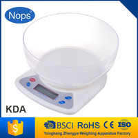 Glass Kitchen Scale,Tare Function, touch sensor with LFGB