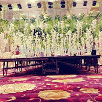 Artificial Wisteria Flower for Indoor Decoration