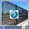 8Ft x 5Ft black galvanized fence panels / metal fence