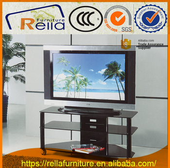 good quality glass TV stand