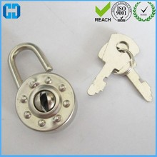 Mini Round Padlocks With Key From China