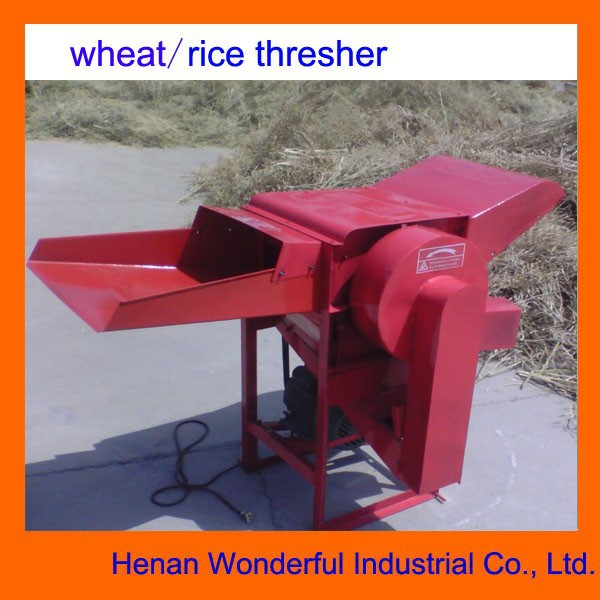 factory supplier mini 800kg/h portable rice thresher