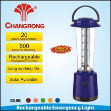 rechargeable emergency 0.2W high power SMD led camping lantern