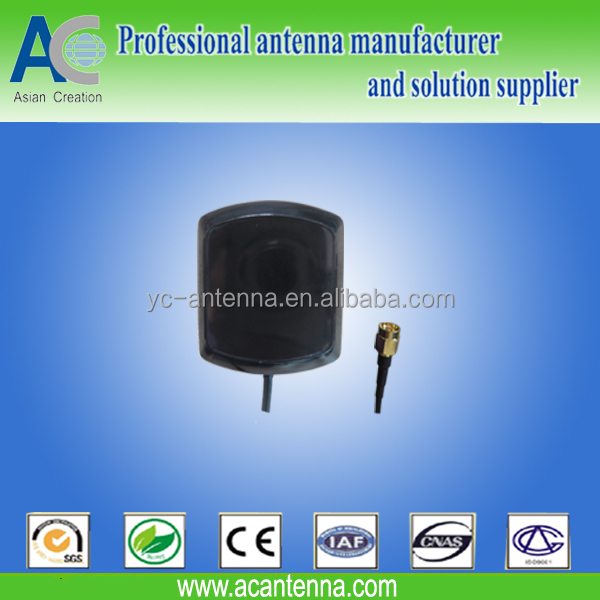 GPS magnetic antenna OEM with SMA connector with cable 2m long