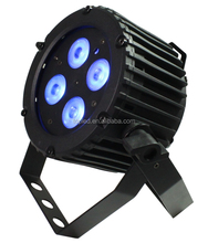 New Style and Sound-active Excellent Color Mixing DMX 4* 4-in-1 RGBW Indoor LED Slim/Flat Par Light